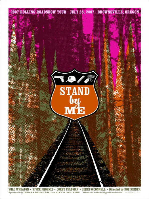 Stand By Me Eye Noise poster