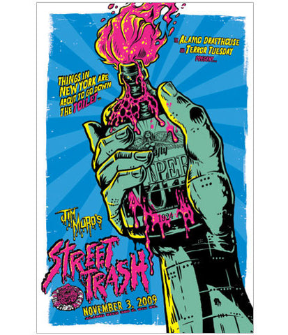 Street Trash Ghoulish Gary Pullin poster