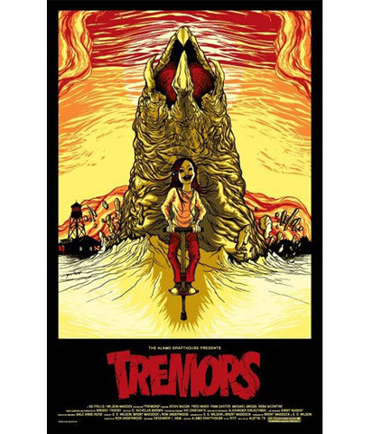Tremors Alex Pardee poster