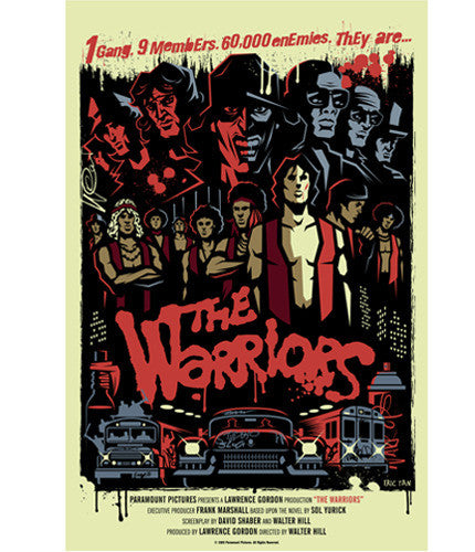 The Warriors  Tan Eric Tan poster