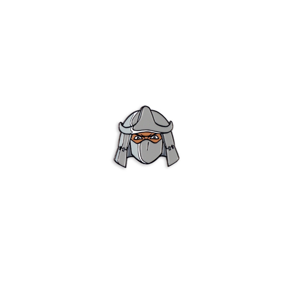 Shredder Enamel Pin