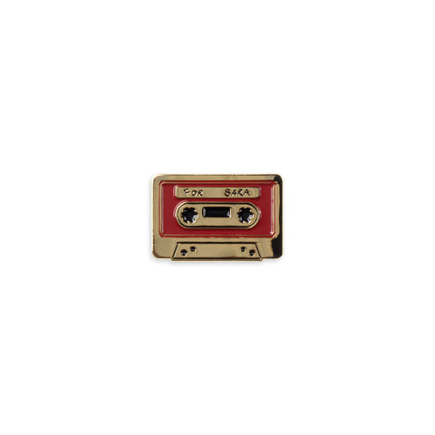 The Cassette Enamel Pin