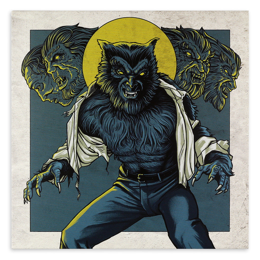 The Monster Squad 7-Inch Single (Wolfman)