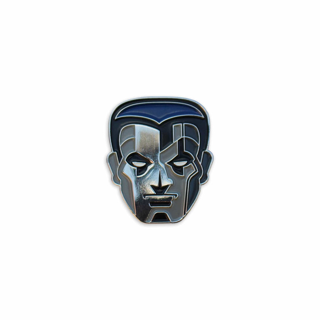 Colossus Enamel Pin