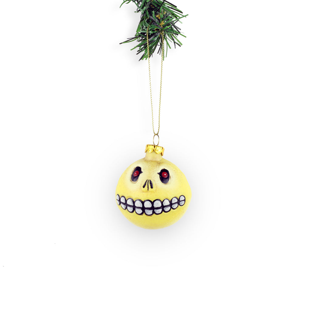 Skull Face Ornament