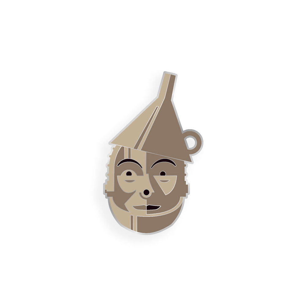 The Tin Man Enamel Pin