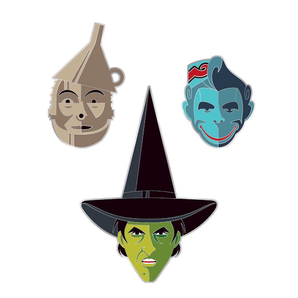 The Wizard of Oz Enamel Pin Set