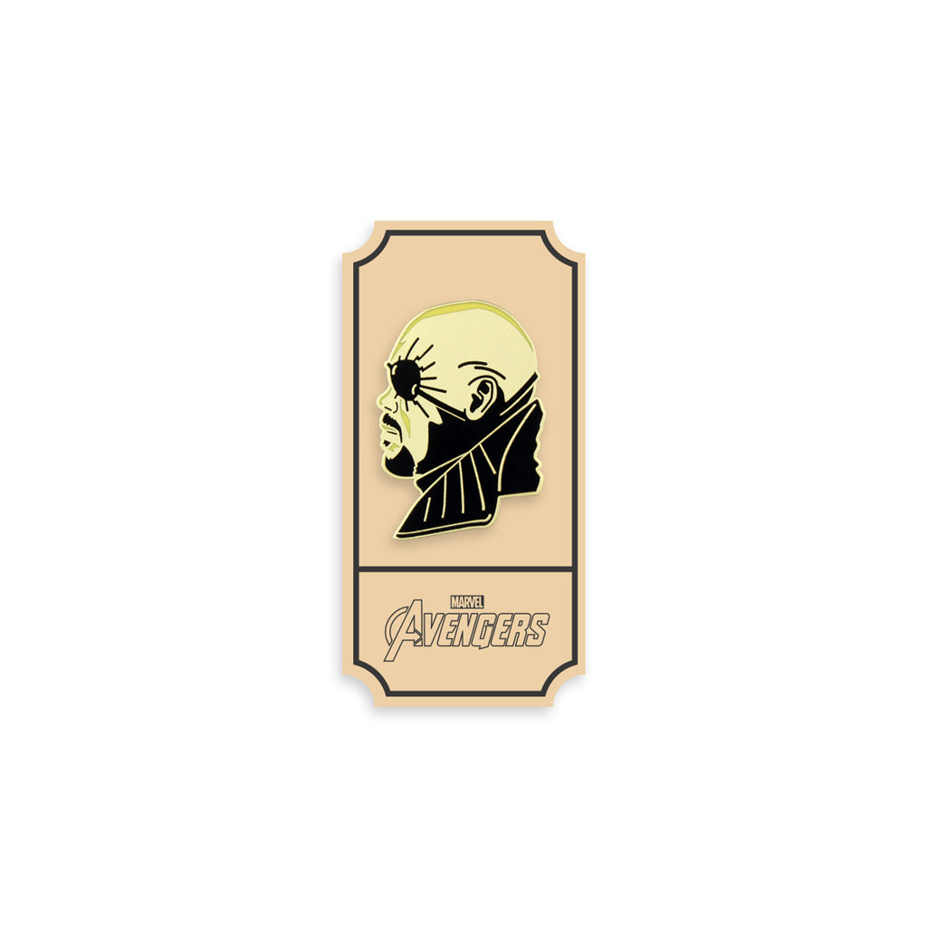 Nick Fury Enamel Pin