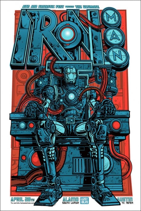 Iron Man  Variant Jesse Philips poster