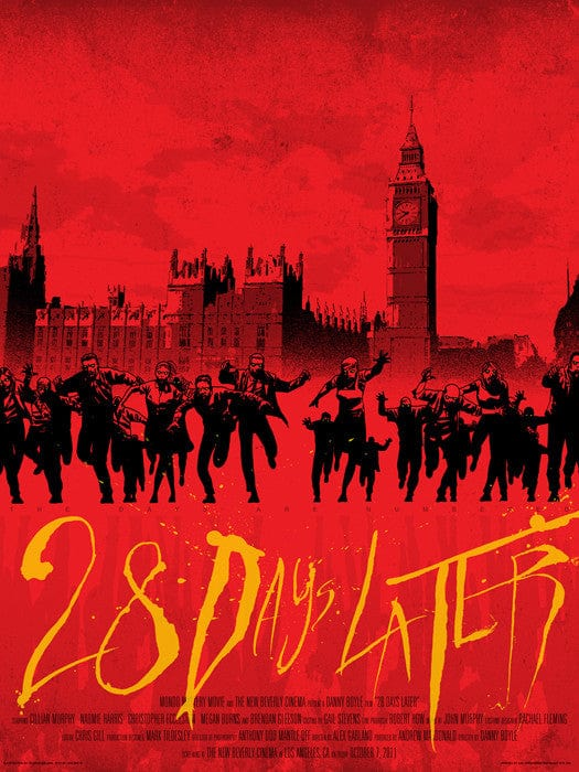 28 Days Later Charlie Adlard Jon Smith poster