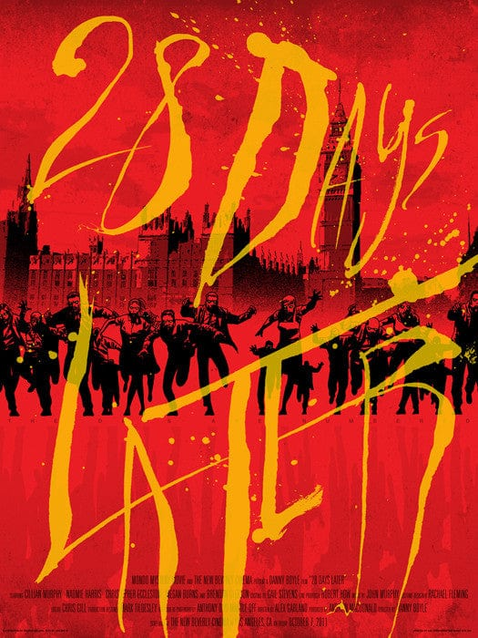 28 Days Later   Variant Charlie Adlard Jon Smith poster