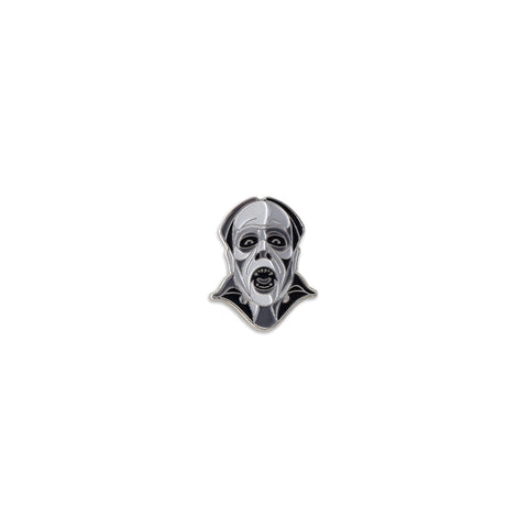 Phantom Of The Opera Enamel Pin (Monochrome)