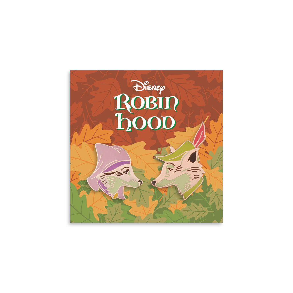 Robin Hood Enamel Pin Set