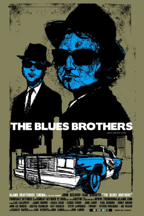 The Blues Brothers Scrojo poster