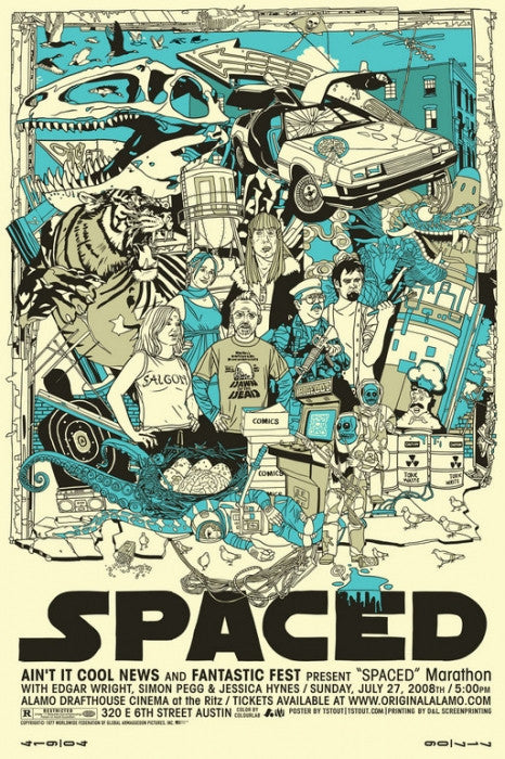 Spaced Tyler Stout poster