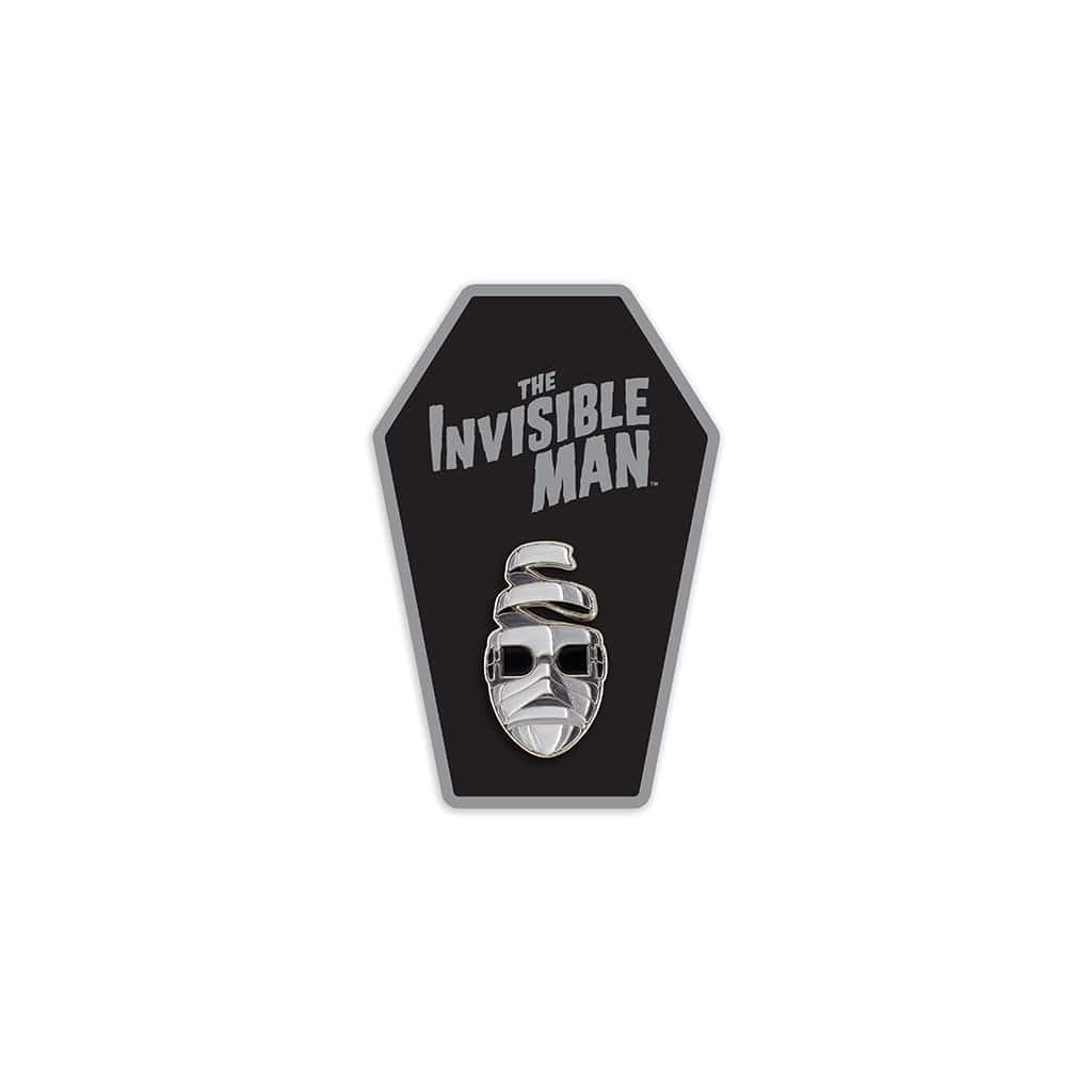 Invisible Man Enamel Pin (Monochrome)