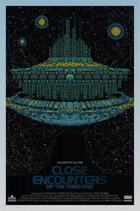 Close Encounters of the Third Kind  Todd Slater poster