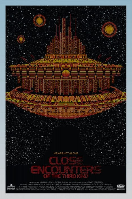 Close Encounters of the Third Kind   Variant Todd Slater poster