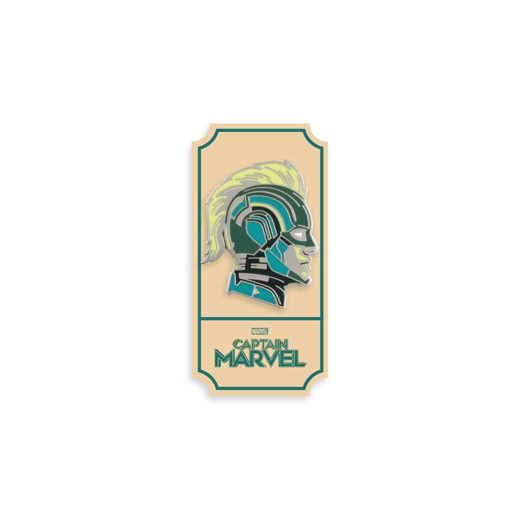Captain Marvel (Kree Suit) Enamel Pin