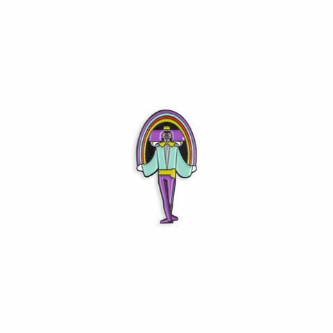 Katamari Damacy: The King Enamel Pin