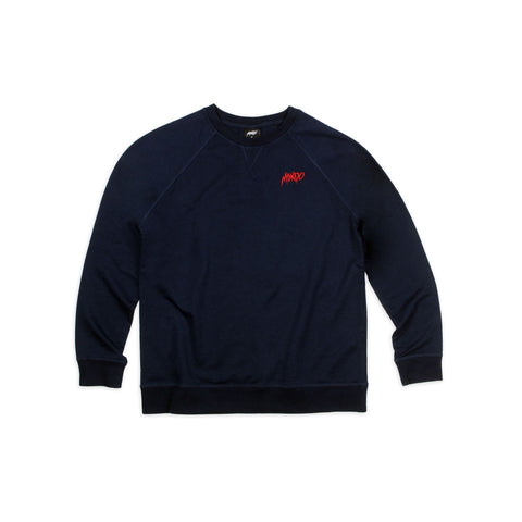 Mondo Thrasher Embroidered Crew Neck Sweatshirt
