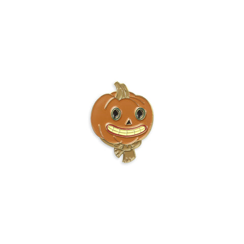 The Pumpkin People Enamel Pin