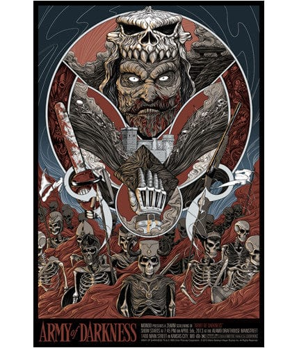 Army of Darkness Randy Ortiz poster