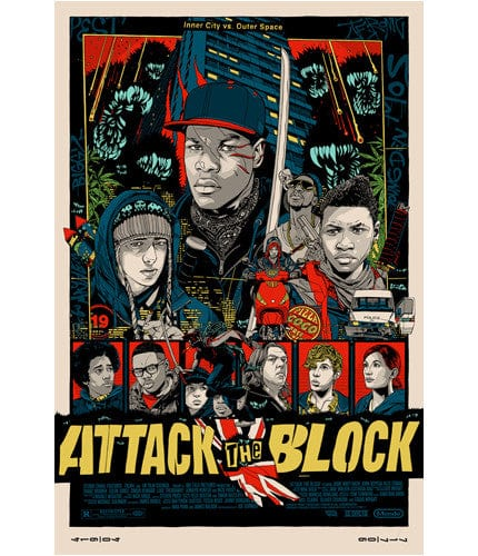 Attack the Block-Tyler Stout-poster