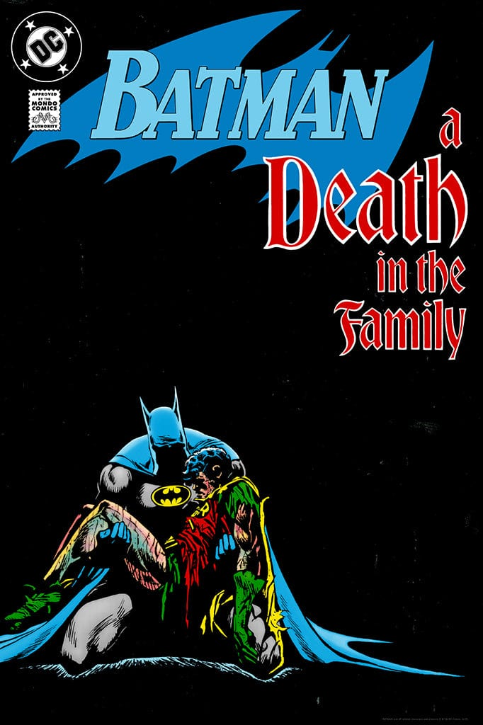 Batman: A Death in the Family Screenprinted Poster