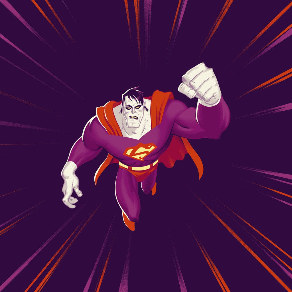 Bizarro Superman: The Animated Series – Die-Cut Single