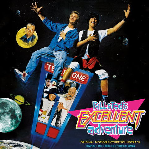 Bill & Ted's Excellent Adventure  - Original Score LP