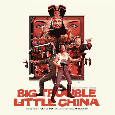 Big Trouble In Little China - Original Motion Picture Soundtrack 2XLP
