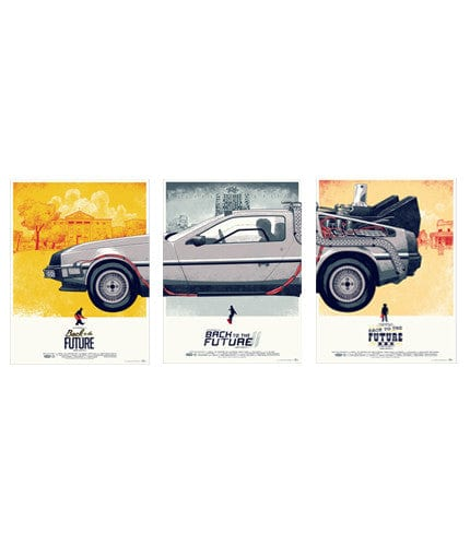 Back to the Future Trilogy Set Phantom City Creative poster