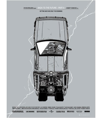 Back to the Future Part II Gianmarco Magnani poster