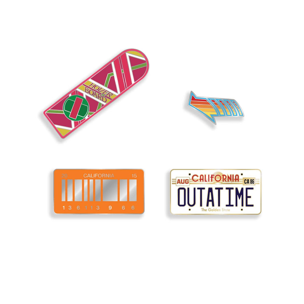 Back to the Future Enamel Pin Set (Pre-Order)