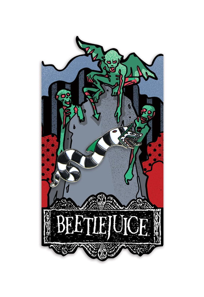 Beetlejuice: Sandworm Enamel Pin