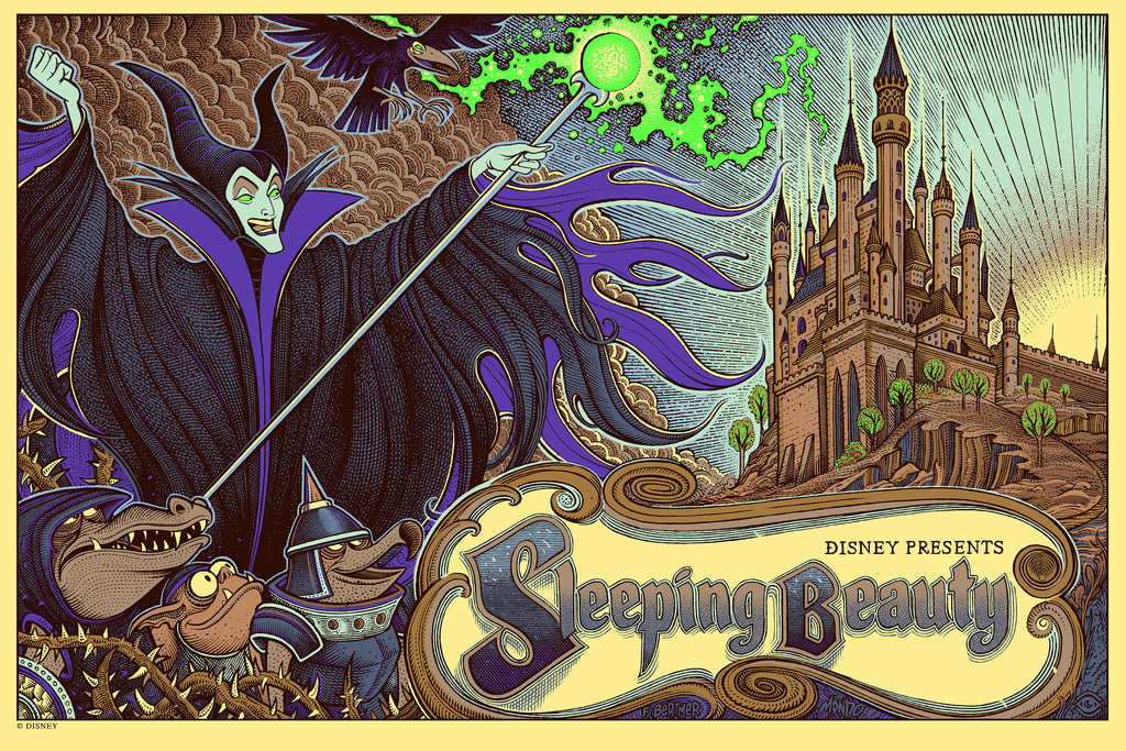Mondo X Cyclops Print Works Print #28: Sleeping Beauty
