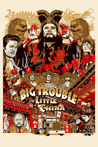 Big Trouble in Little China #1 Comic