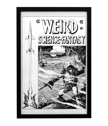 Weird Science Cover Chris Mooneyham OG