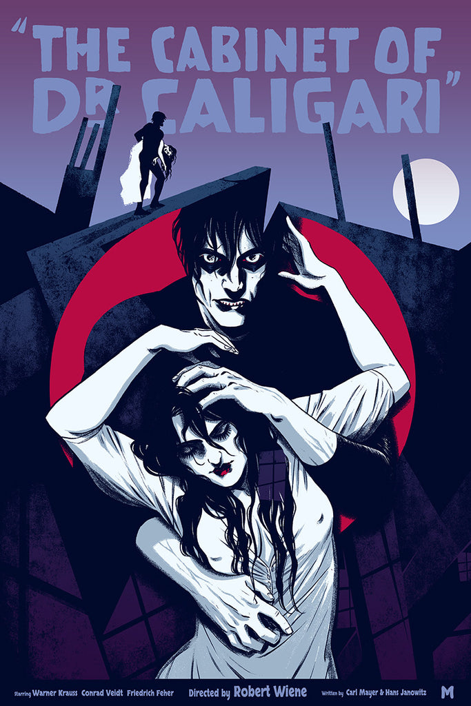 The Cabinet of Dr. Caligari (Variant) by Becky Cloonan – Mondo
