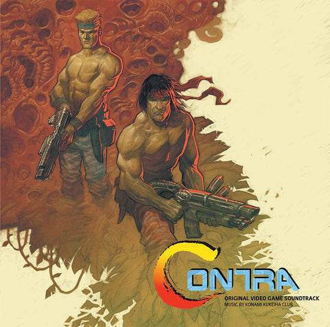 Contra - Original Video Game Soundtrack LP