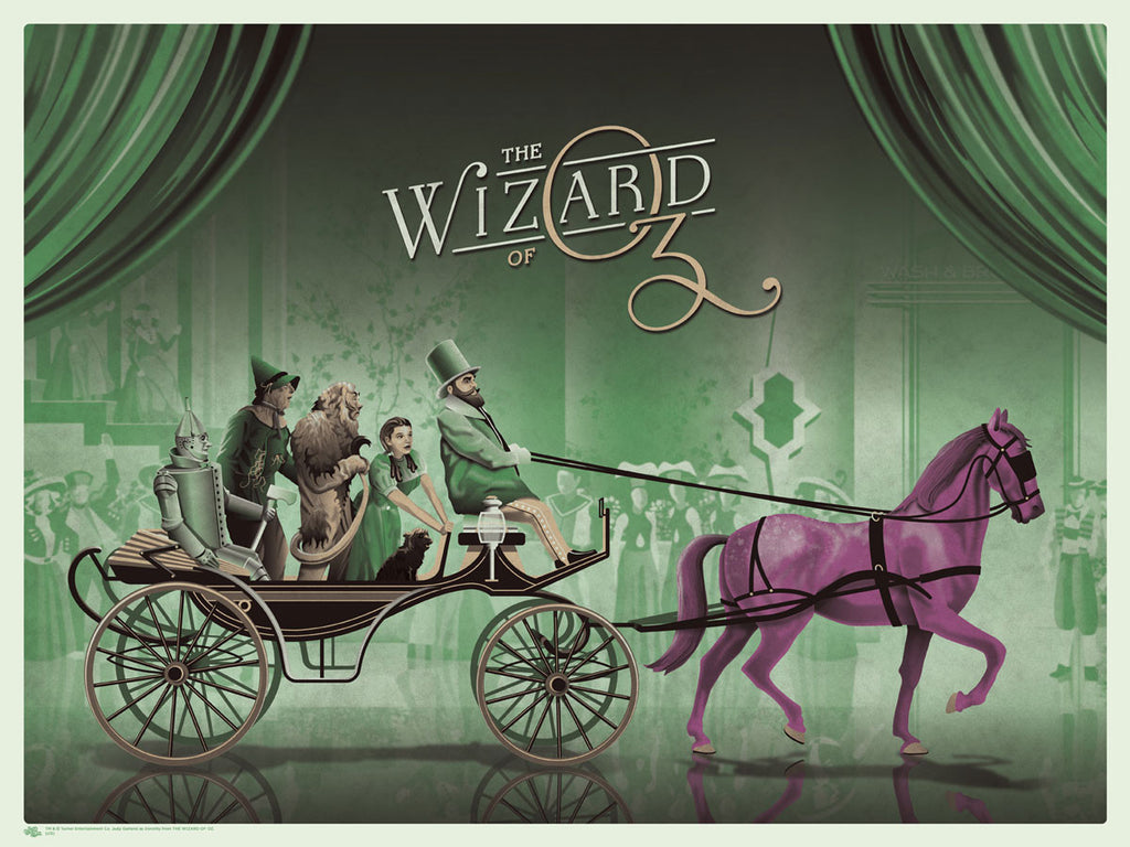 The Wizard of Oz (Purple Horse)
