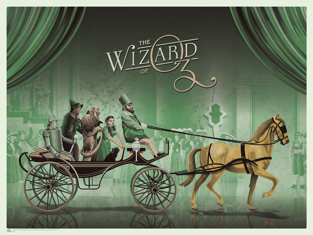 The Wizard of Oz (Yellow Horse)