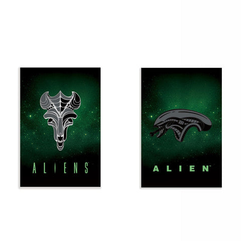 Alien Enamel Pin Set