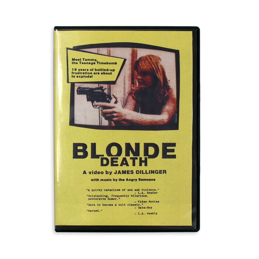 Blonde Death DVD