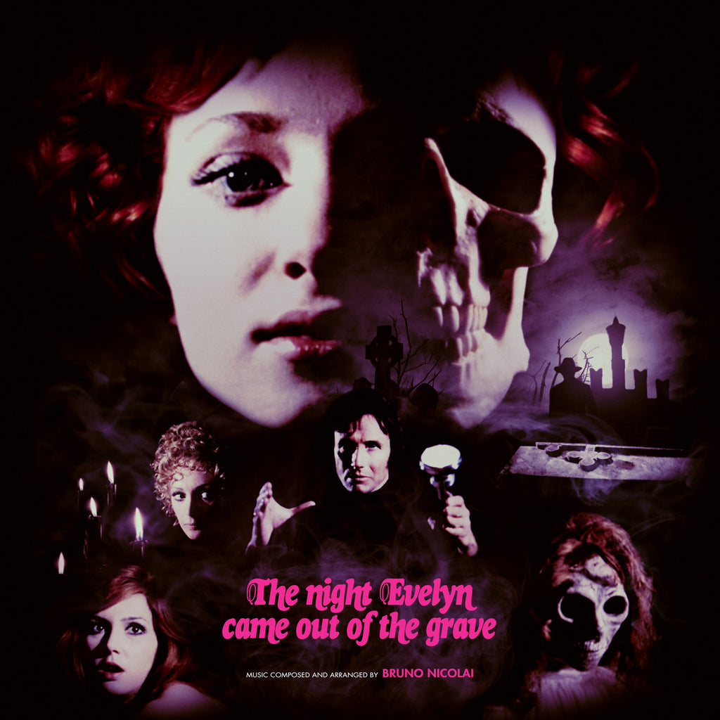 The Night Evelyn Came Out Of The Grave - Original Motion Picture Soundtrack LP