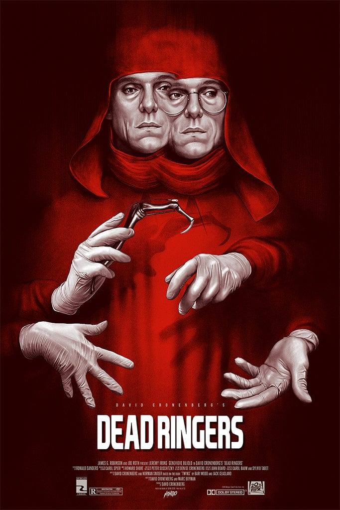 Dead Ringers Screenprinted Poster