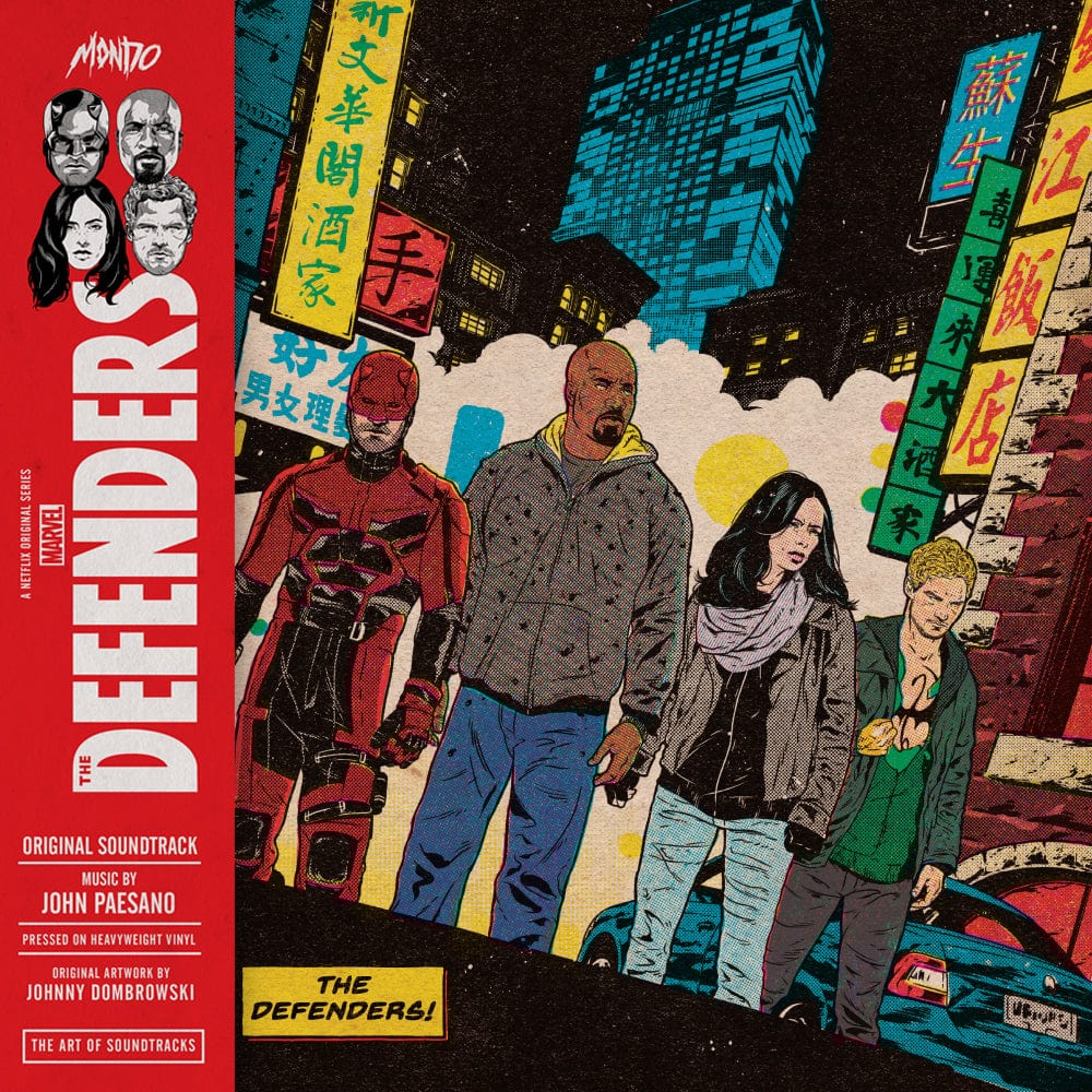 Marvel's The Defenders - Original Soundtrack 2XLP