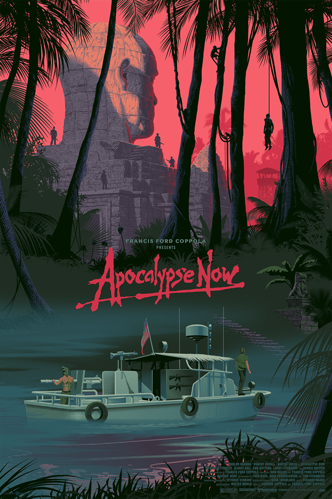 Apocalypse Now (Jungle) Screenprinted Poster