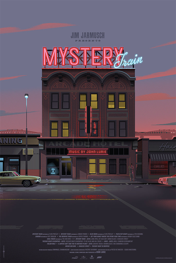 Mystery Train Poster